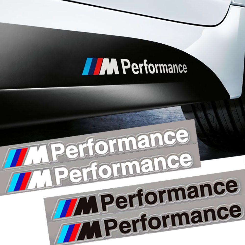 M Performance Car Sticker Vinyl Decal For BMW Motorsport