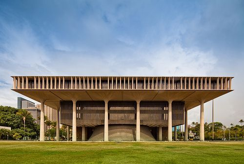 Hawaii State Capitol Architects Belt Lemon And Lo And John Carl - Hawaii architecture firms