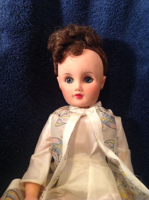 Manikin Doll Vintage 1950's Valentine Co 18 In | eBay