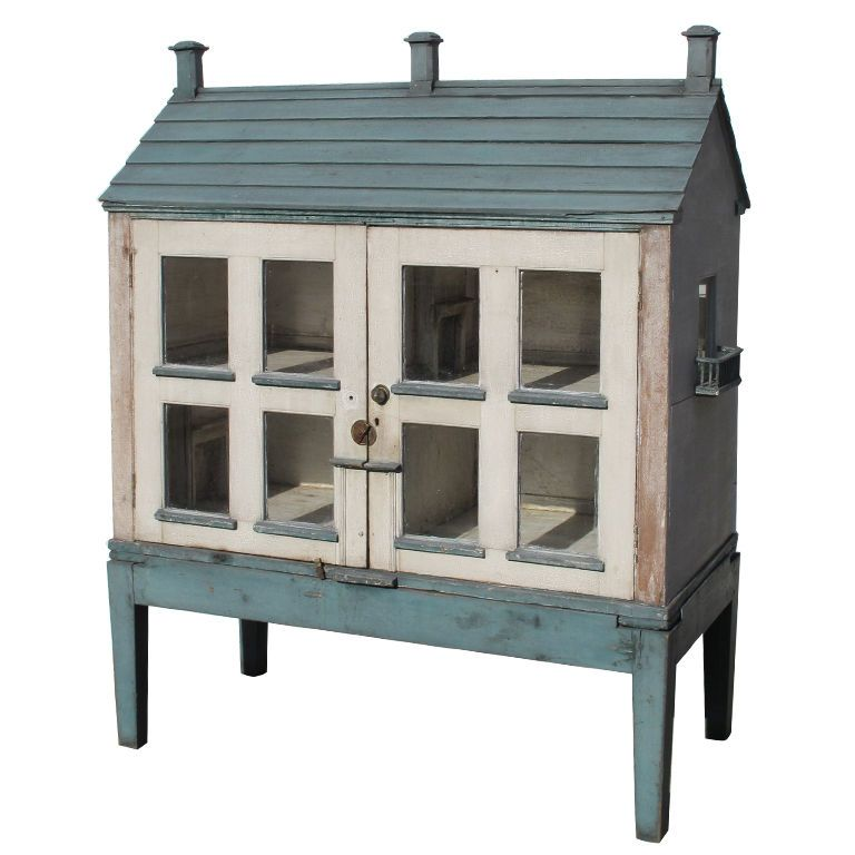 Victorian Dolls House On Stand