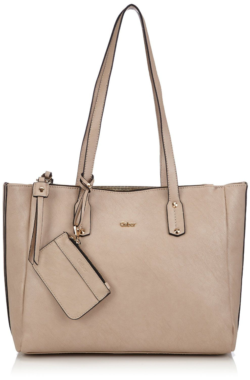 Gabor AVA Shopper 6922 20 Ladies Shopper 42x30x14 cm (W x H x D), Beige (Beige 20)