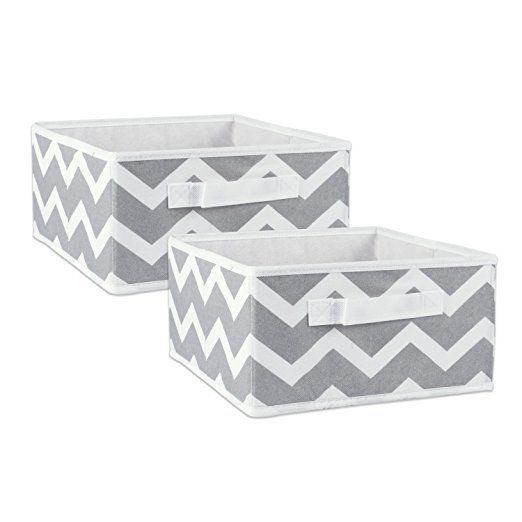 Dii Foldable Fabric Storage Containers For Nurseries Offices Closets Home Decor Cube Organizers Everyday Stor Fabric Storage Bins Fabric Storage