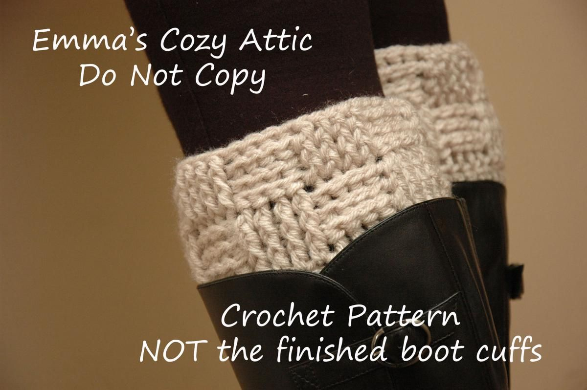 Unique Crochet Boot Topper Pattern Images - Easy Scarf Knitting ...