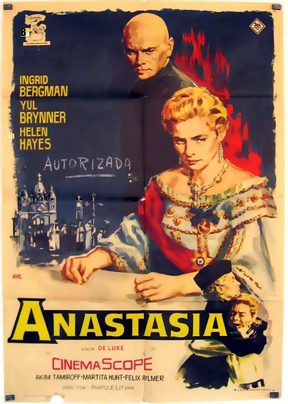 Anastasia Movie Poster Anastasia Movie Poster Película Anastasia Carteles De Cine Carteles De Películas Famosas