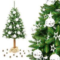 Weihnachtsbaum Christbaum Tannenbaum Kunstlich Auf Naturlichem Stamm 180 Cm Ebay Weihnachtsbaum Christbaum Christbaum Kunstlich