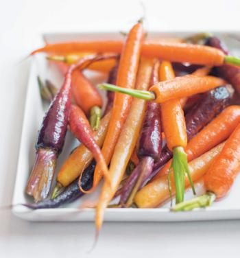 Baby Candied Carrots