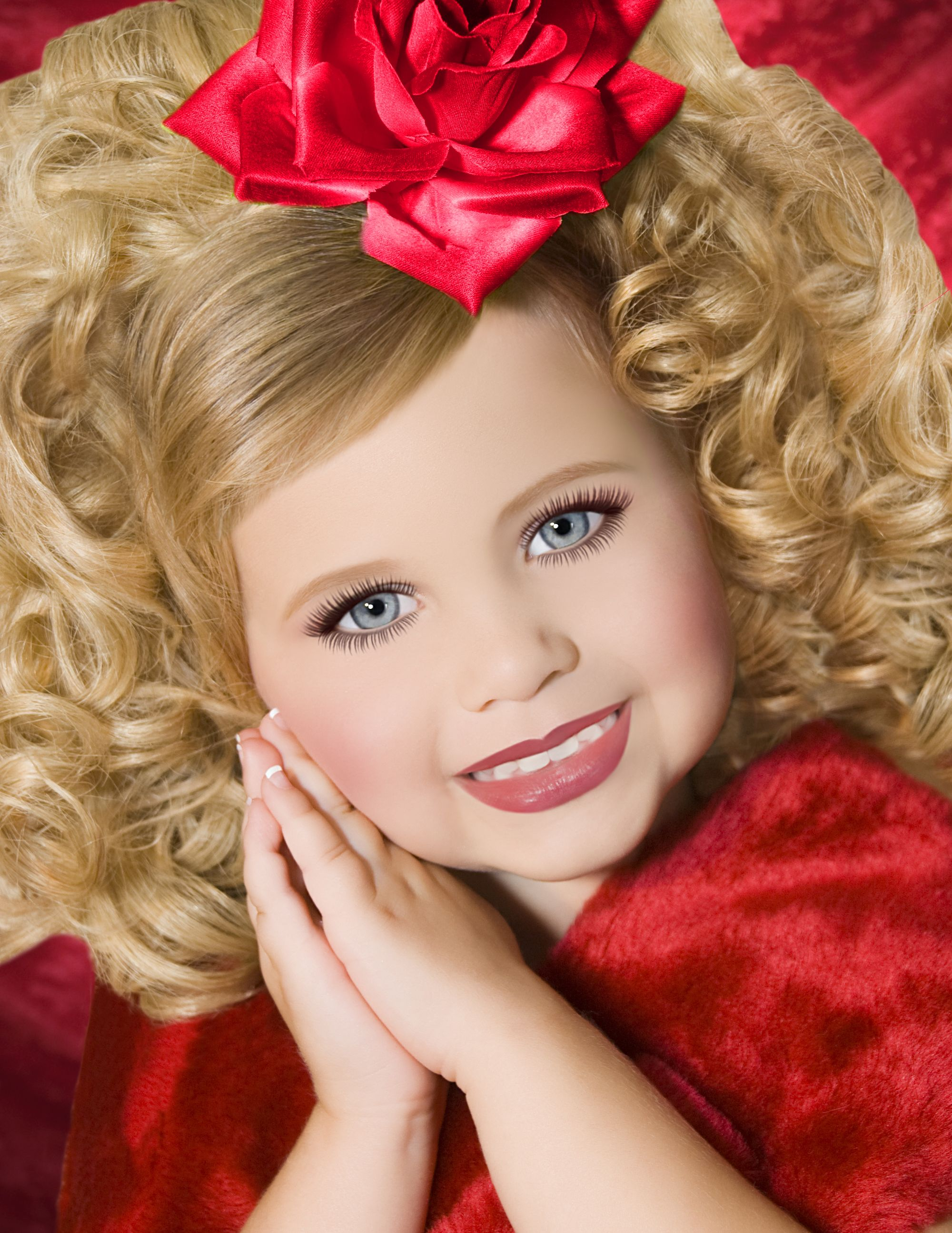 pageant photo toppers, glitz photo shoot sets   pageant hairstyles