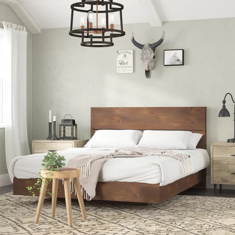 Best Union Rustic Lockheart Platform Bed Reviews Wayfair 400 x 300