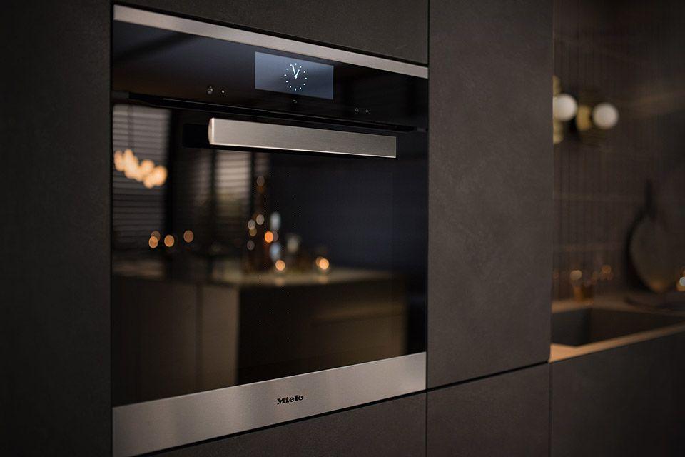 Miele Dialog Oven Bespoke Kitchens American Kitchen Design Miele Kitchen