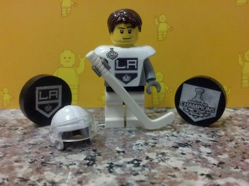 NHL Stanley Cup Champions Custom La Kings Away Kopitar 11 Lego Hockey Minifig | eBay
