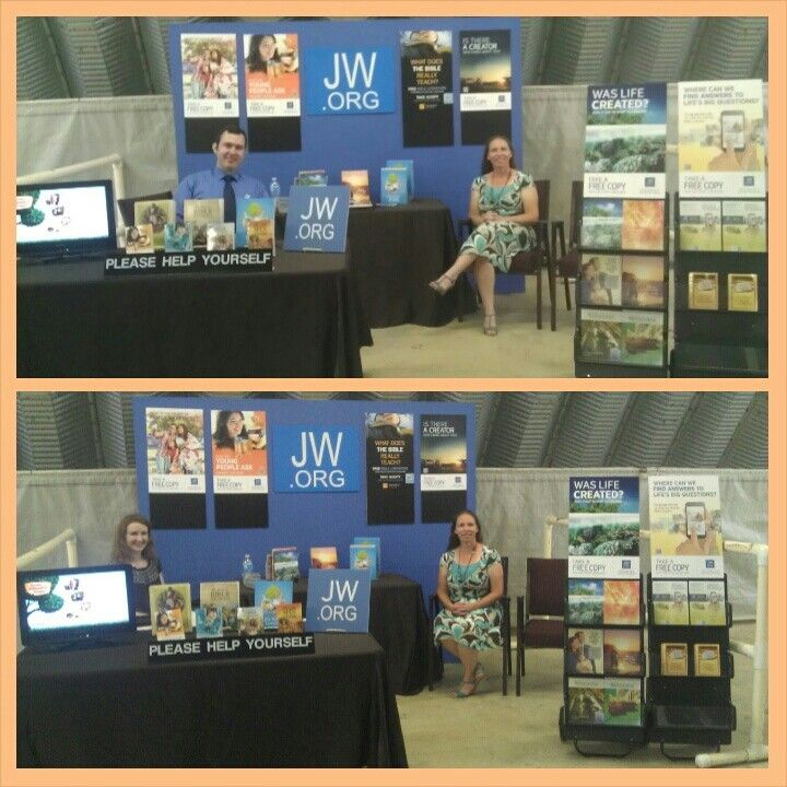 Public witnessing booth in Idabel, Oklahoma county fair  | My Jw org