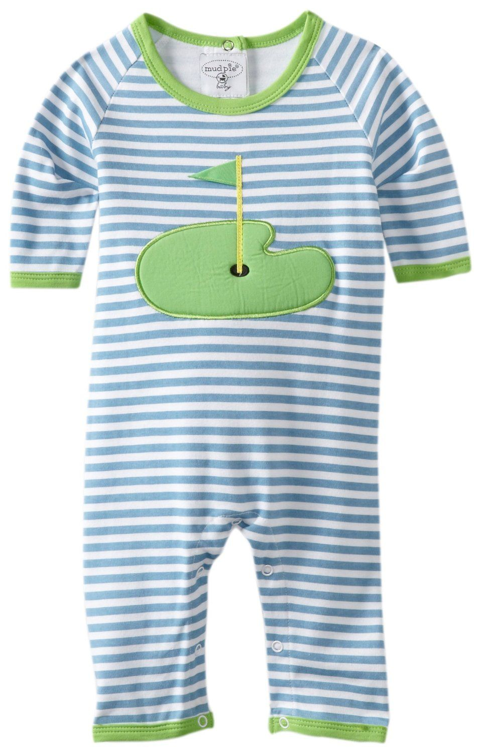28c50718a386 Baby Golf Clothes - Boys Golf Sleeper Newborn.... For the golf pro's kid  haha