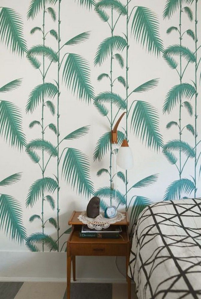 Bedroom Inspirations Vintage Wallpaper