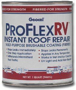 Geocel Corporation Geocel Gc24200 Pro Flex Rv Instant Repair Roof Repair Roof Coating Rv Roof Repair