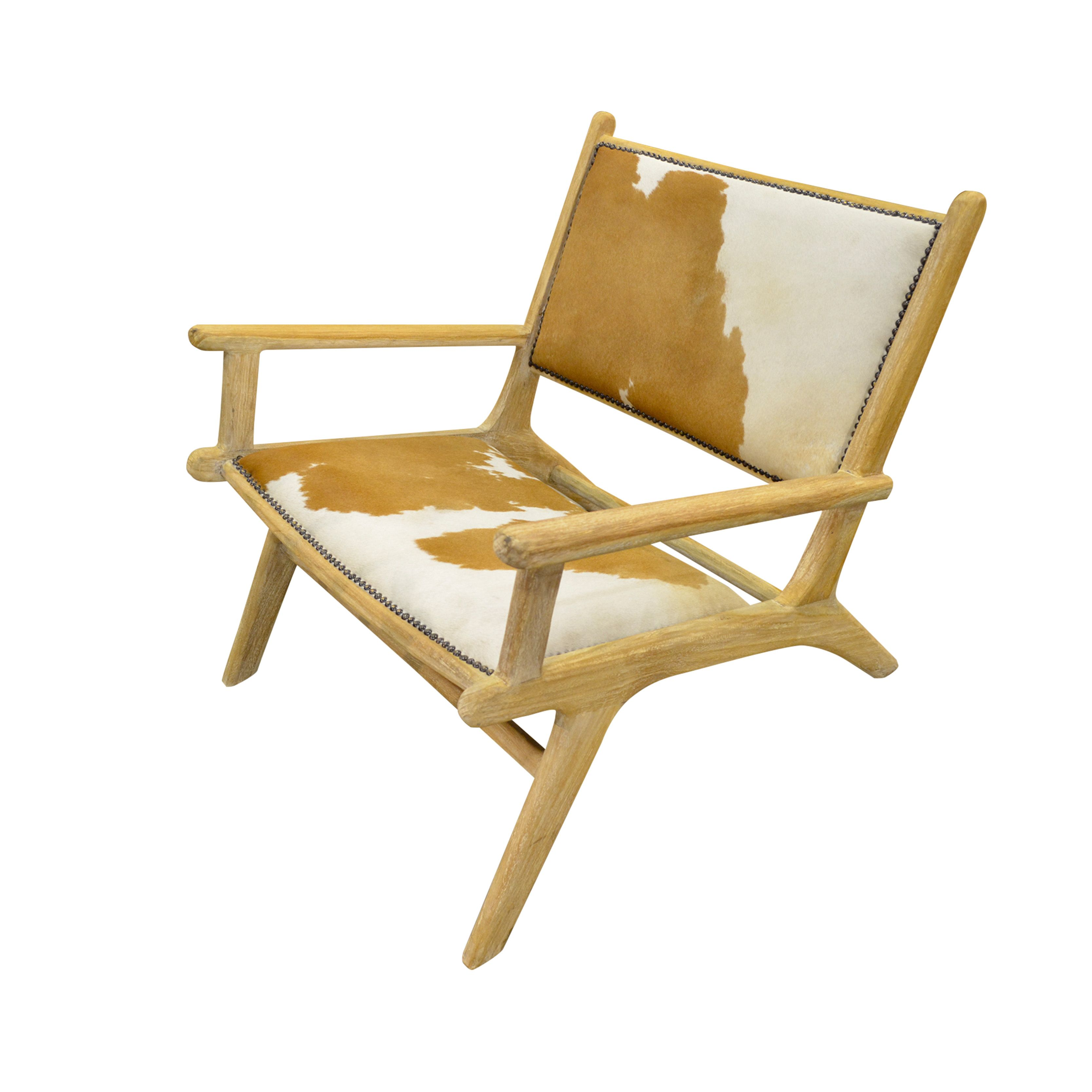 Lounge Chair Brown Teak The Proportional Form Of The Design Combined With The Tanned Cowhide Has Been A Pleasure For Those Who Treasure Comfort Seat Its A T