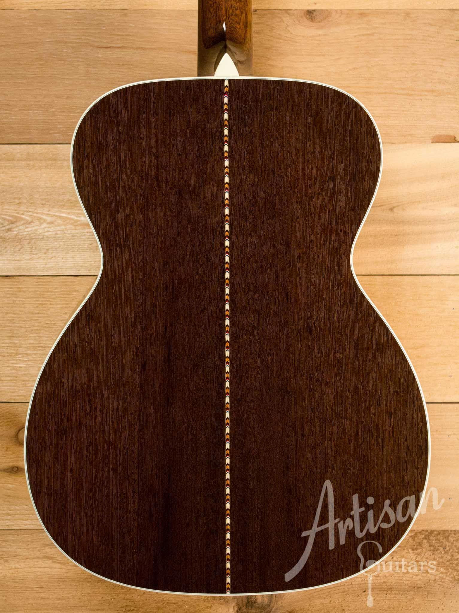 Collings Om3ha Guitar Adirondack Spruce And Wenge With Herringbone Pre Owned 2014 Id 10563 Adirondack Herringbone Spruce