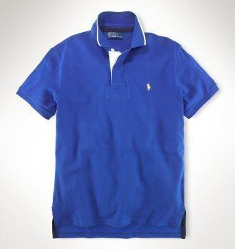 La Camisa es bonita. Es azul de la tienda de ropa de Ralph Lauren ... 31579011115c2