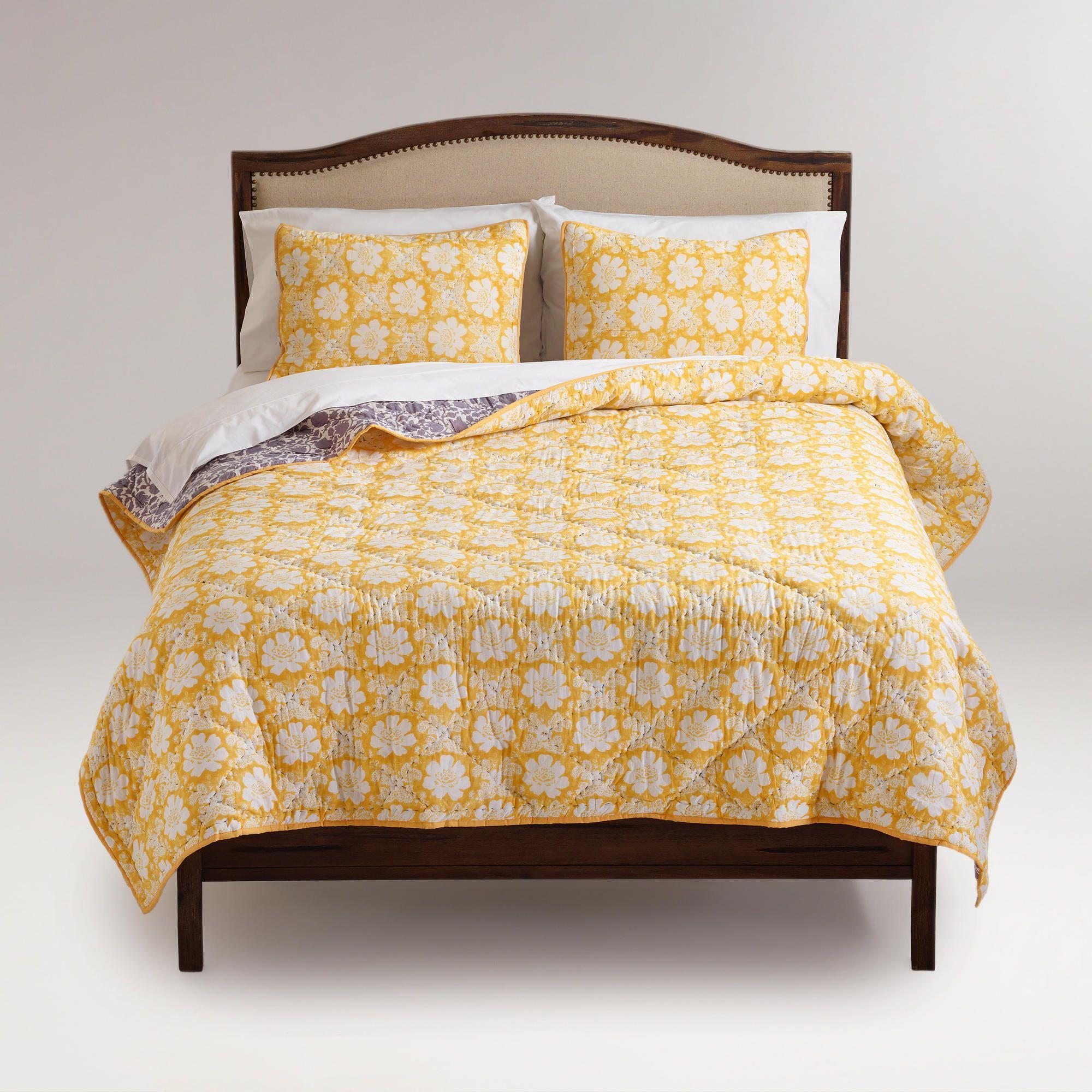 Annabel Reversible Quilt World Market Bed Makeover Reversible
