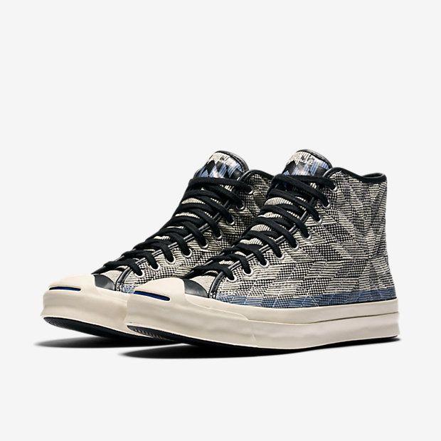 4c012ed6e19fa6 Converse Jack Purcell Signature Quilt High Top Unisex Shoe