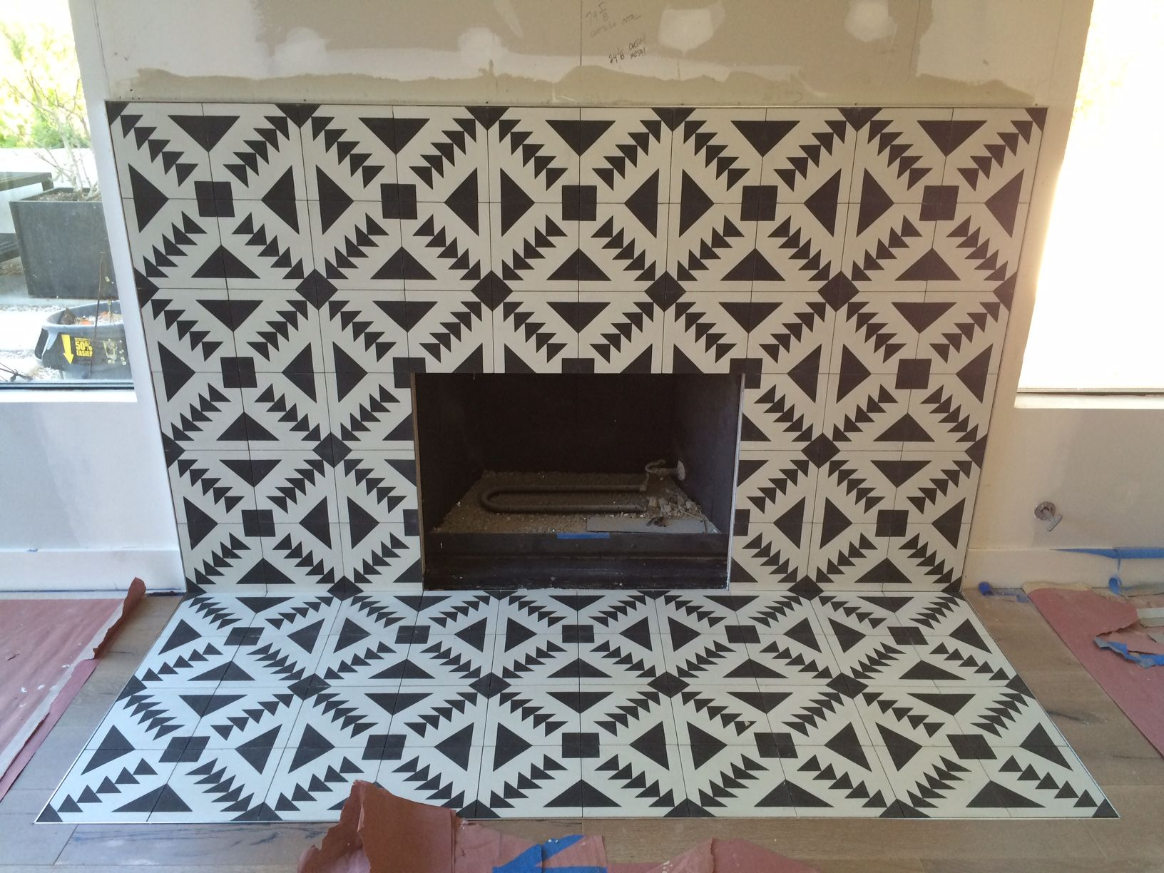 Fireplace Progress 2Jpg