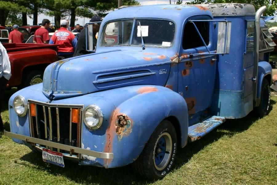 blue truck with rust | old cars and trucks | Pinterest | Ice truck ...