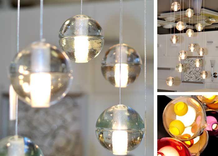 injuicy beleuchtung modernes magic klarer kristall ball anh nger schatten bocci g4 led lampe. Black Bedroom Furniture Sets. Home Design Ideas