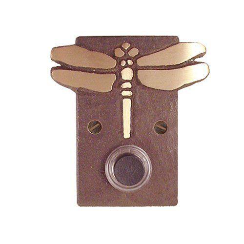 Bronze Dragonfly Doorbell Surround with Lighted Button Modern Artisans //.  sc 1 st  Pinterest & Bronze Dragonfly Doorbell Surround with Lighted Button Modern ...