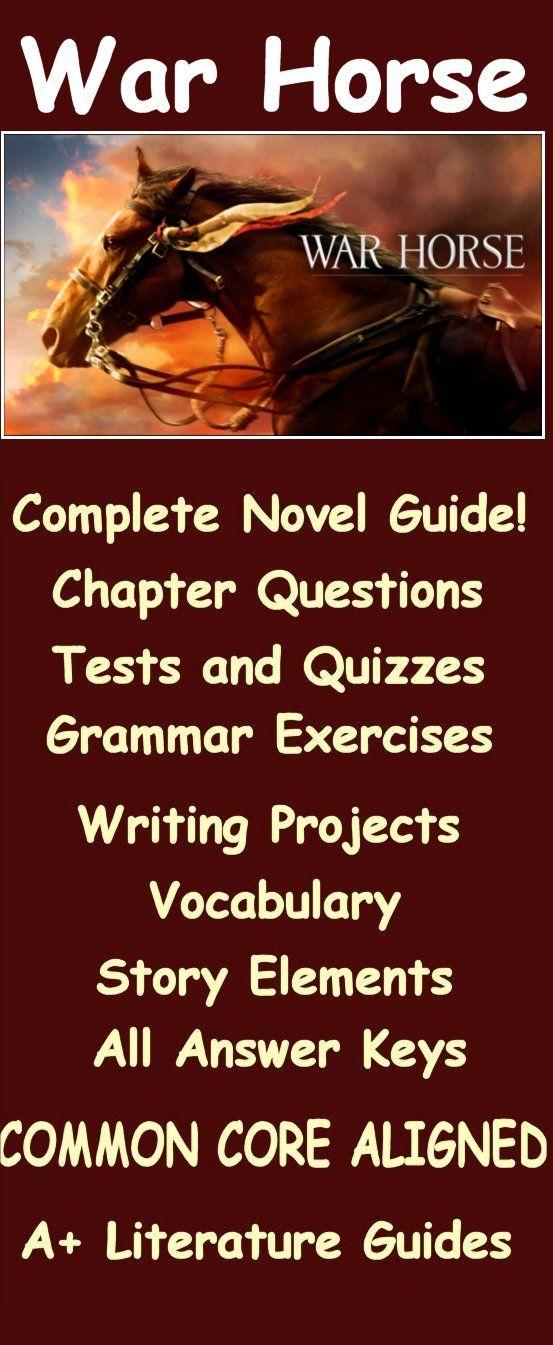 War horse novel study free sample | novels, literature, the unit.