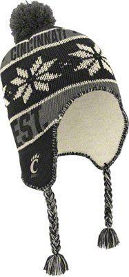 Cincinnati Bearcats - one of my favorite knit hats I own.