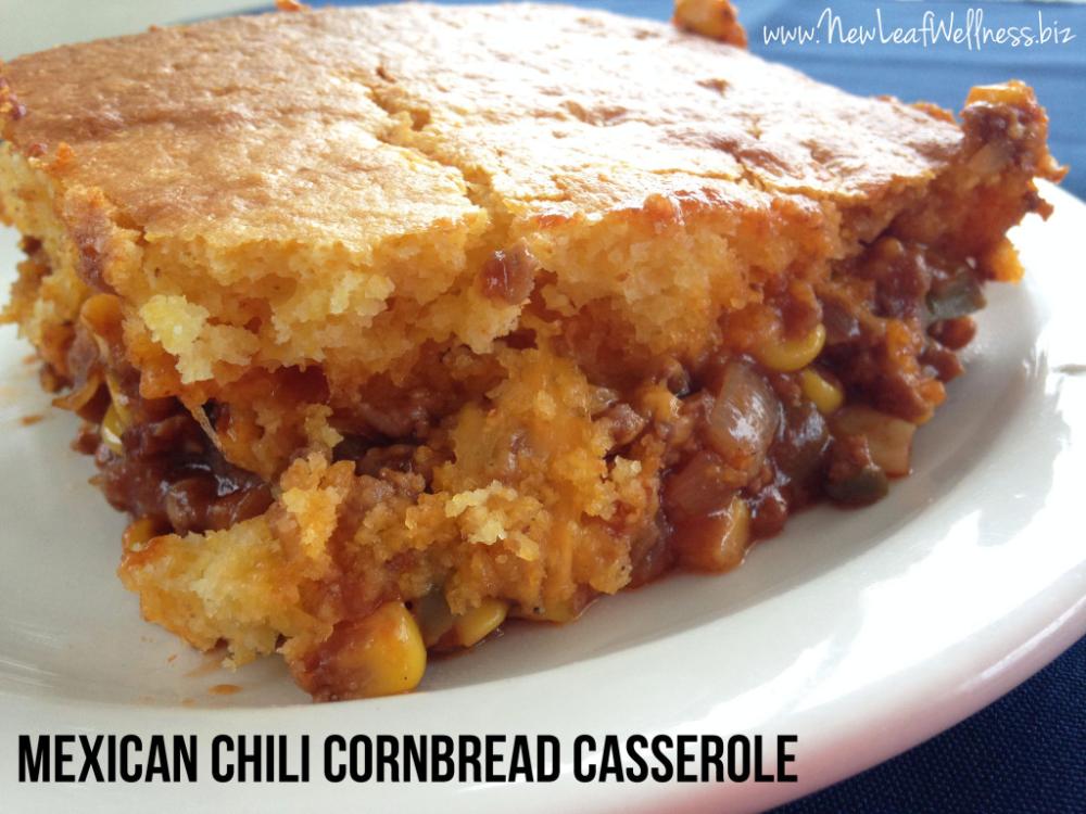 Mexican chili cornbread casserole recipe | The Family Freezer