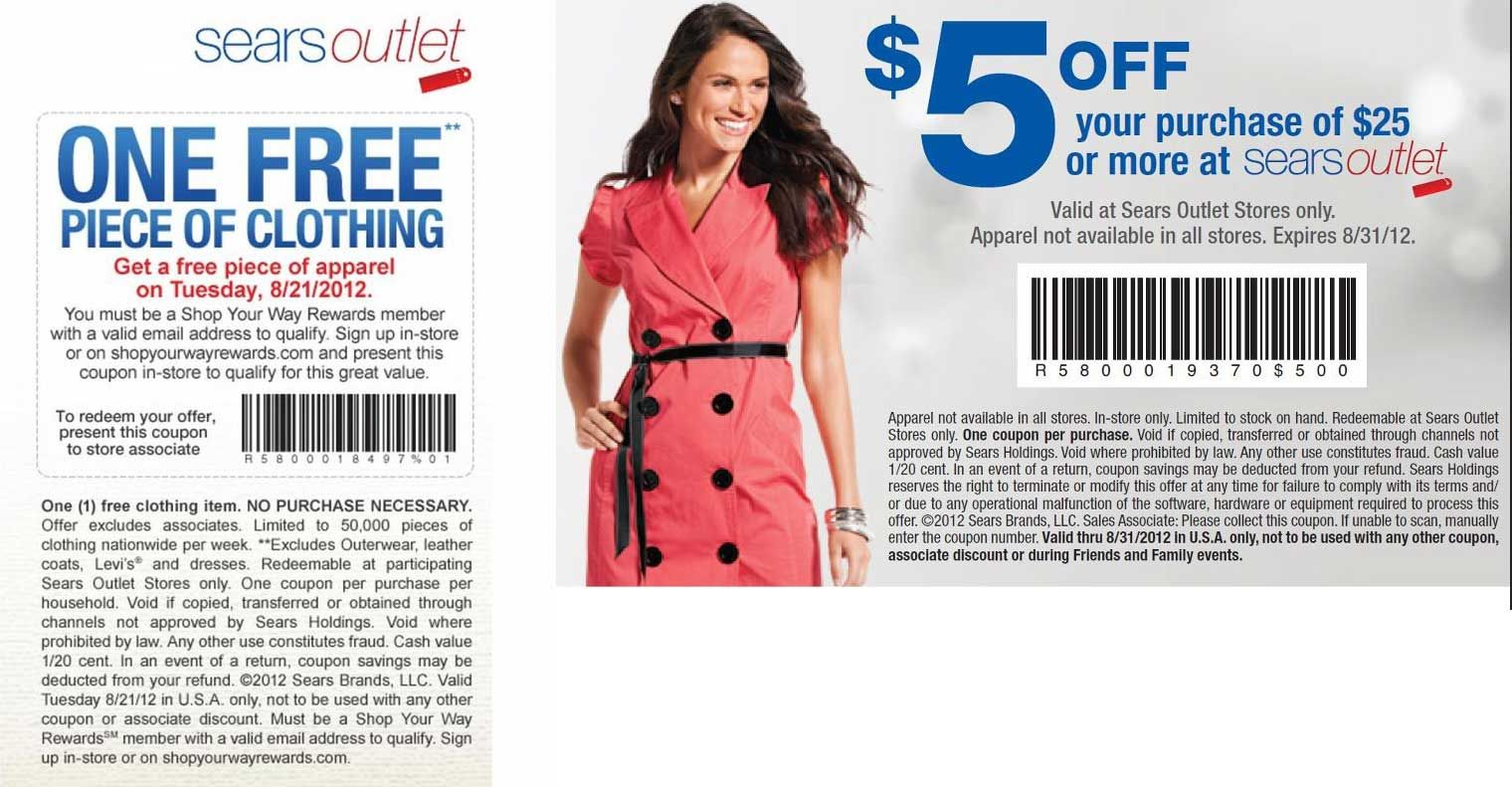 It's just a picture of Effortless Printable Clothing Coupons