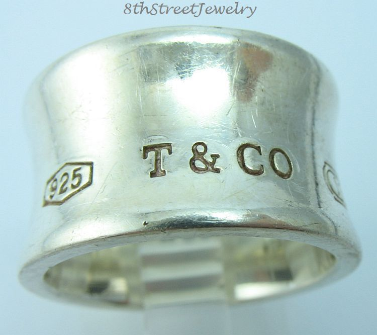 Tiffany 1837 wide ring in sterling silver - Size 10 1/2 Tiffany & Co. G3xl5w4