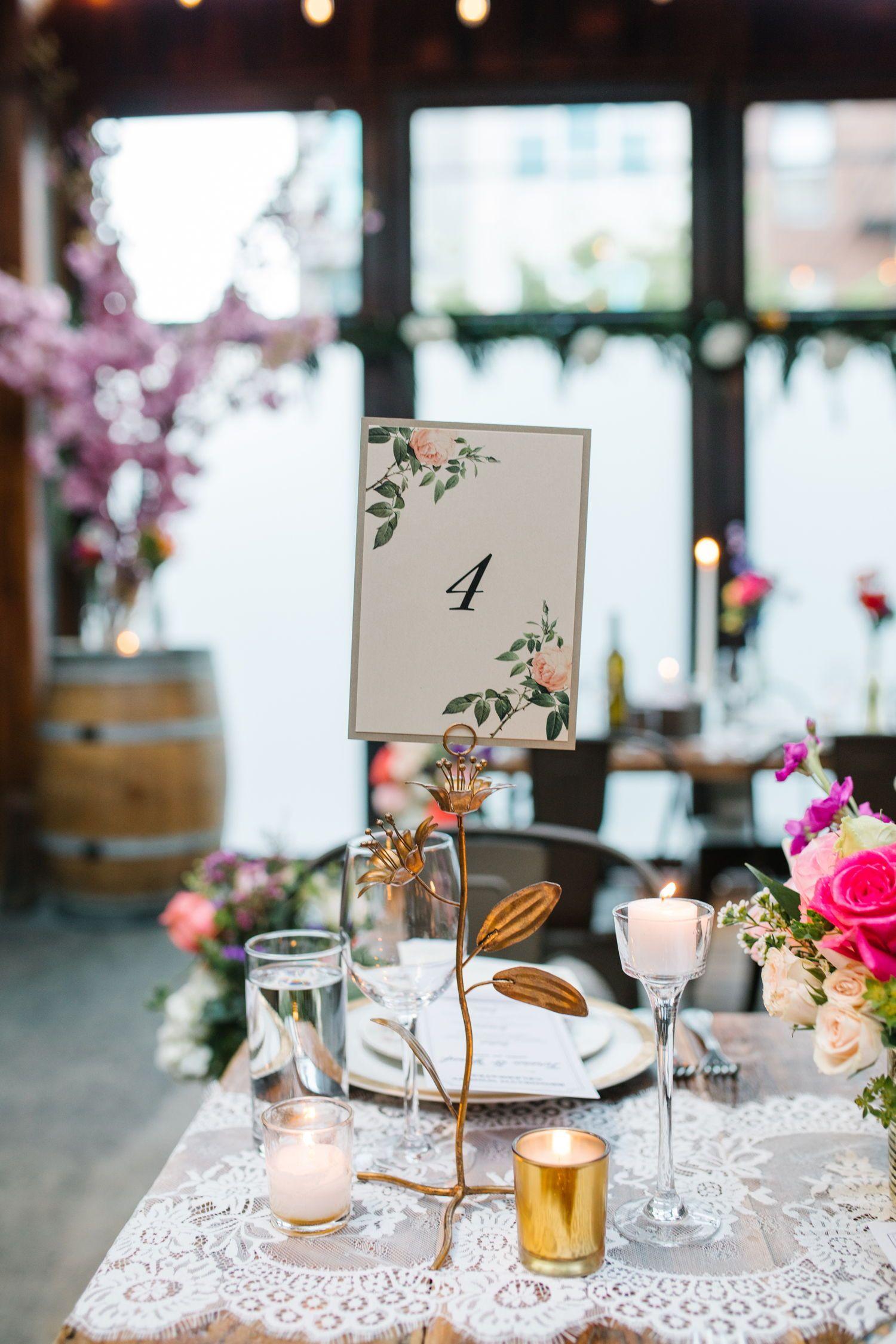 Modern City Winery Wedding in Brooklyn Winery weddings