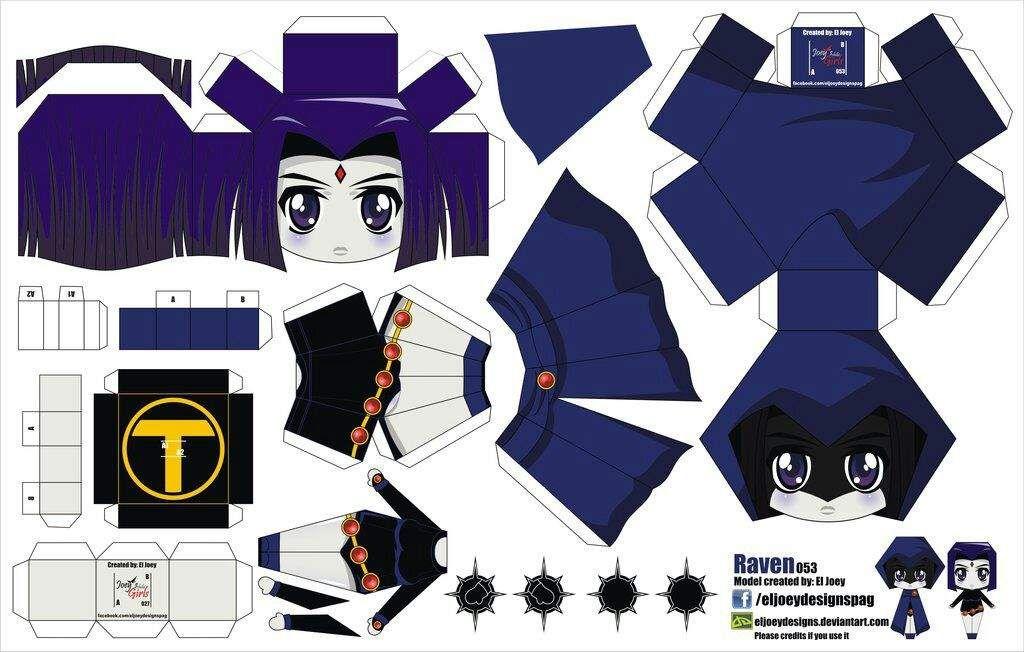 Papercraft Artesanías de anime, Manualidades disney