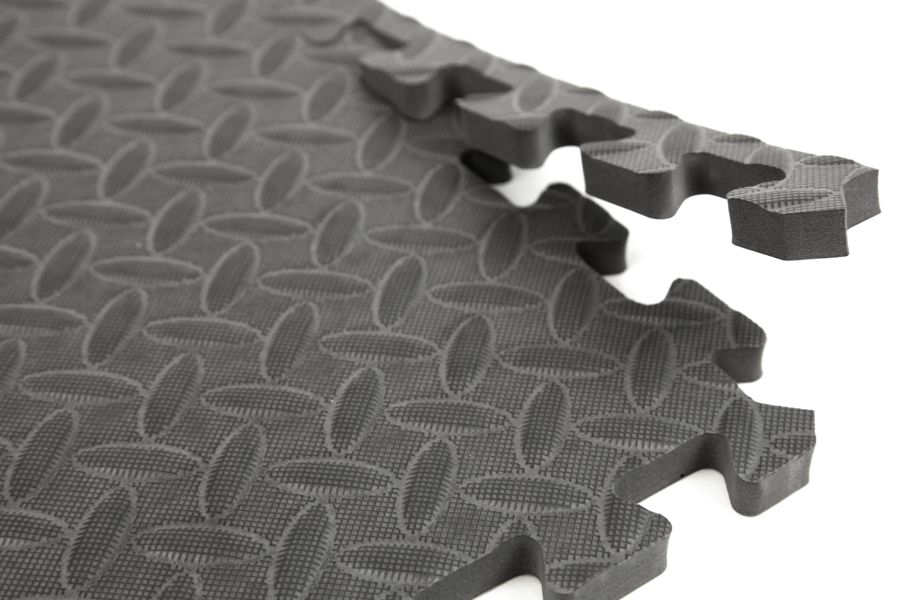 Diamond Soft Tiles Tread Plate Interlocking Foam Tiles