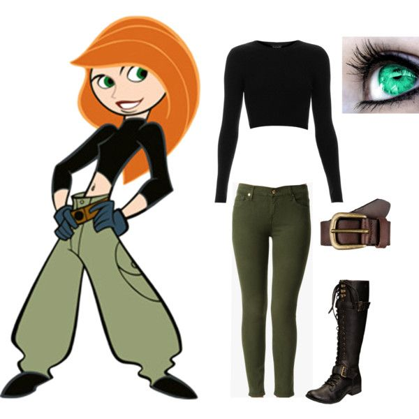 """""""Kim Possible Outfit"""" By Fangirlinspace On Polyvore"""