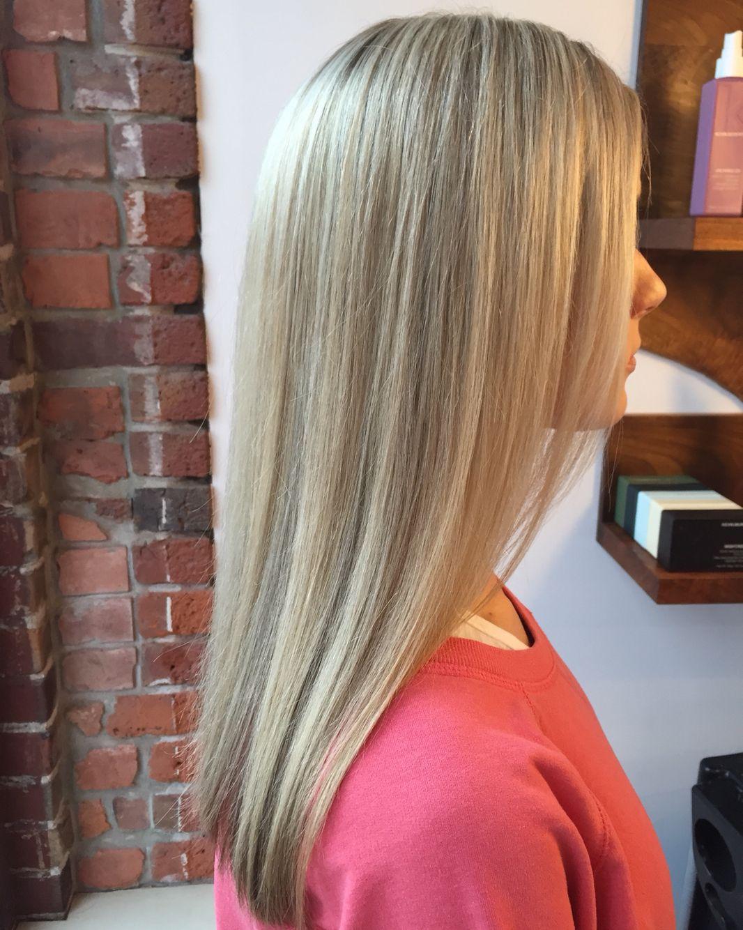 Art color hair - Gorgeous Soft Blonde Color By Me Instagram Veronicagomeshair Blonde Colorhair Artinstagramblondescolors