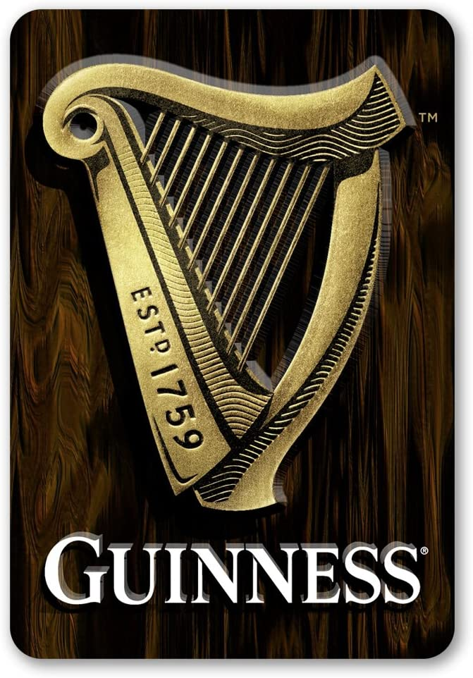 Amazonsmile Guinness Harp 3d 18 X 12 Home Kitchen Guiness Guinness Guiness Beer