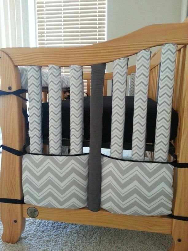 Home Made Crib Bumper A K A Wonder Bumpers Repurposed Crib Bumper As Decor Crib Skirt Baby Crib Bumpers Diy Crib Diy Baby Stuff