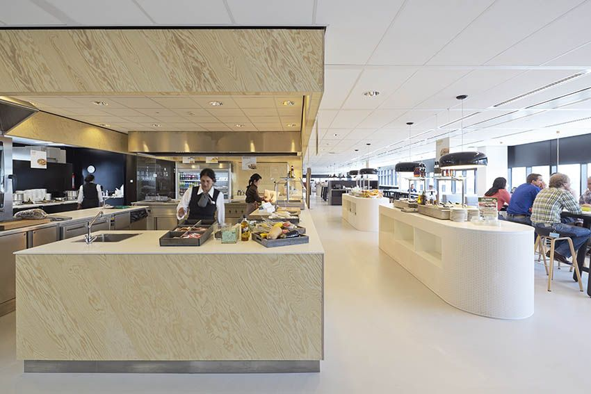 Kantoorinrichting Den Haag.Hollandse Nieuwe Architects Sustainable Interior Office Design Tno