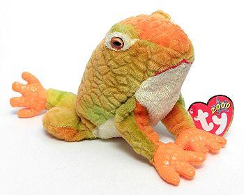 Ty Beanie Buddy PRINCE the Frog