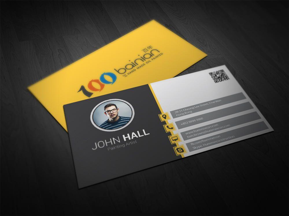 Premium Business Card Design Service by YorgosF - 40201   Business ...