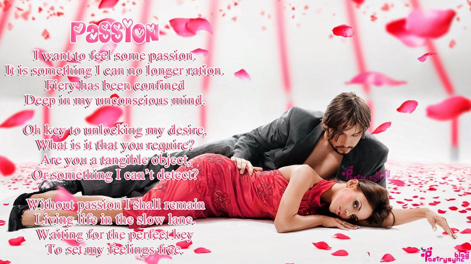 Love Romantic Poem Passion couple   Romantic poems