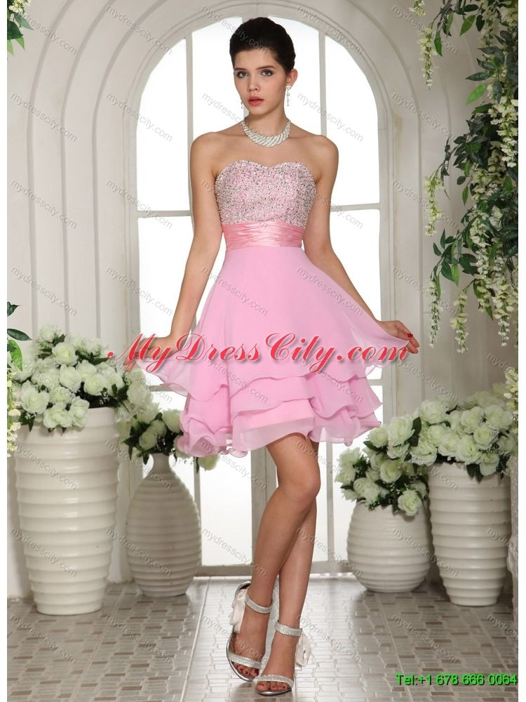 white-strapless-beading-quinceanera-dress-and-baby-pink-short ...