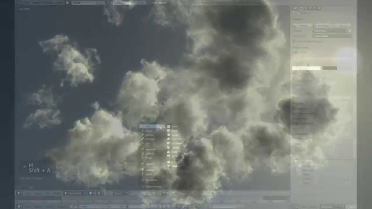 volumetric clouds blender | Blender 3D in 2019 | Blender tutorial