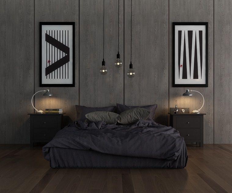 Camere Da Letto Maschili : Arredare camera da letto stile maschile grigio casa giorgio