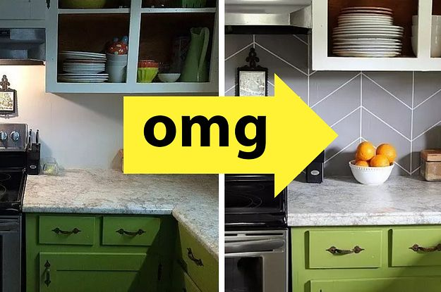 21 Kitchen Upgrades That You Can Actually Do Yourself Kitchen Renovation Kitchen Upgrades Diy Kitchen Renovation