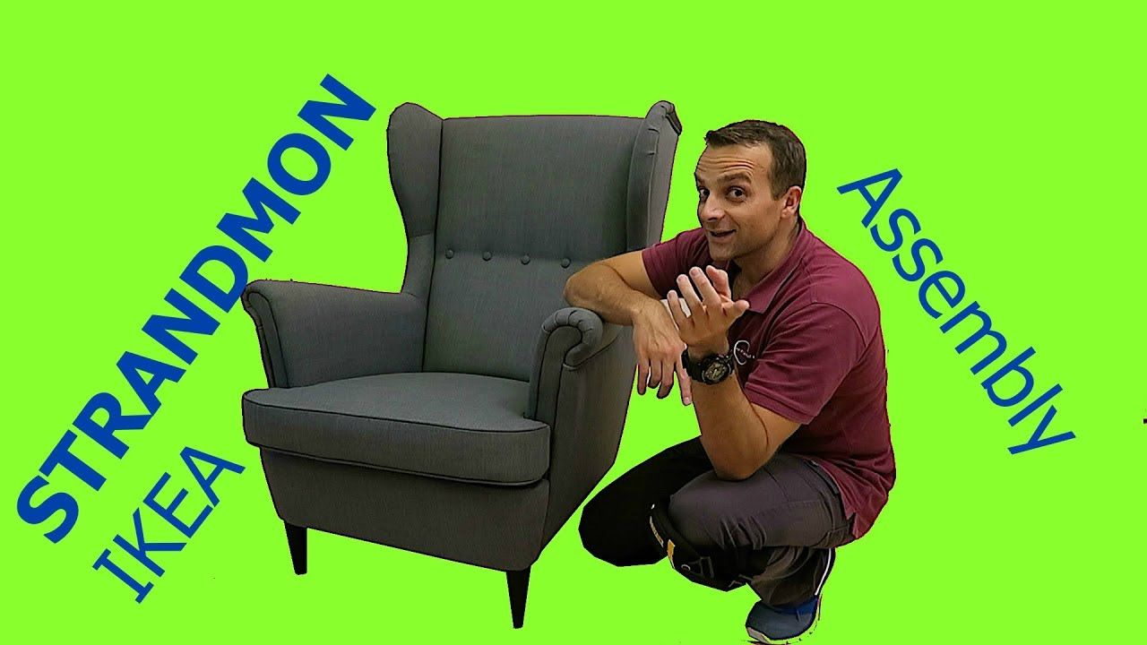 Ikea Strandmon Wing Chair Assembly Recliner Chair Chair Ikea Recliner
