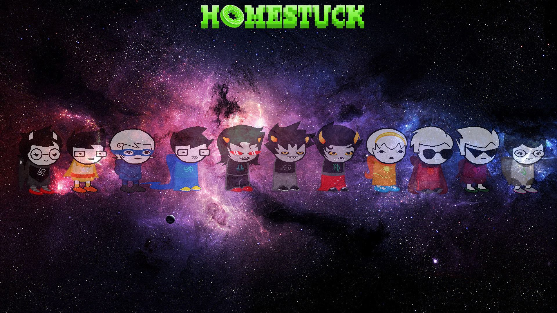 Homestuck Wallpaper That I Made For You Guys Enjoy 1920x1080