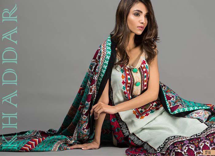 8fa41d2ab5 shariq textiles winter khaddar collection 2016 (2) | Latest Dresses ...